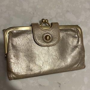 Gold Hobo Wallet